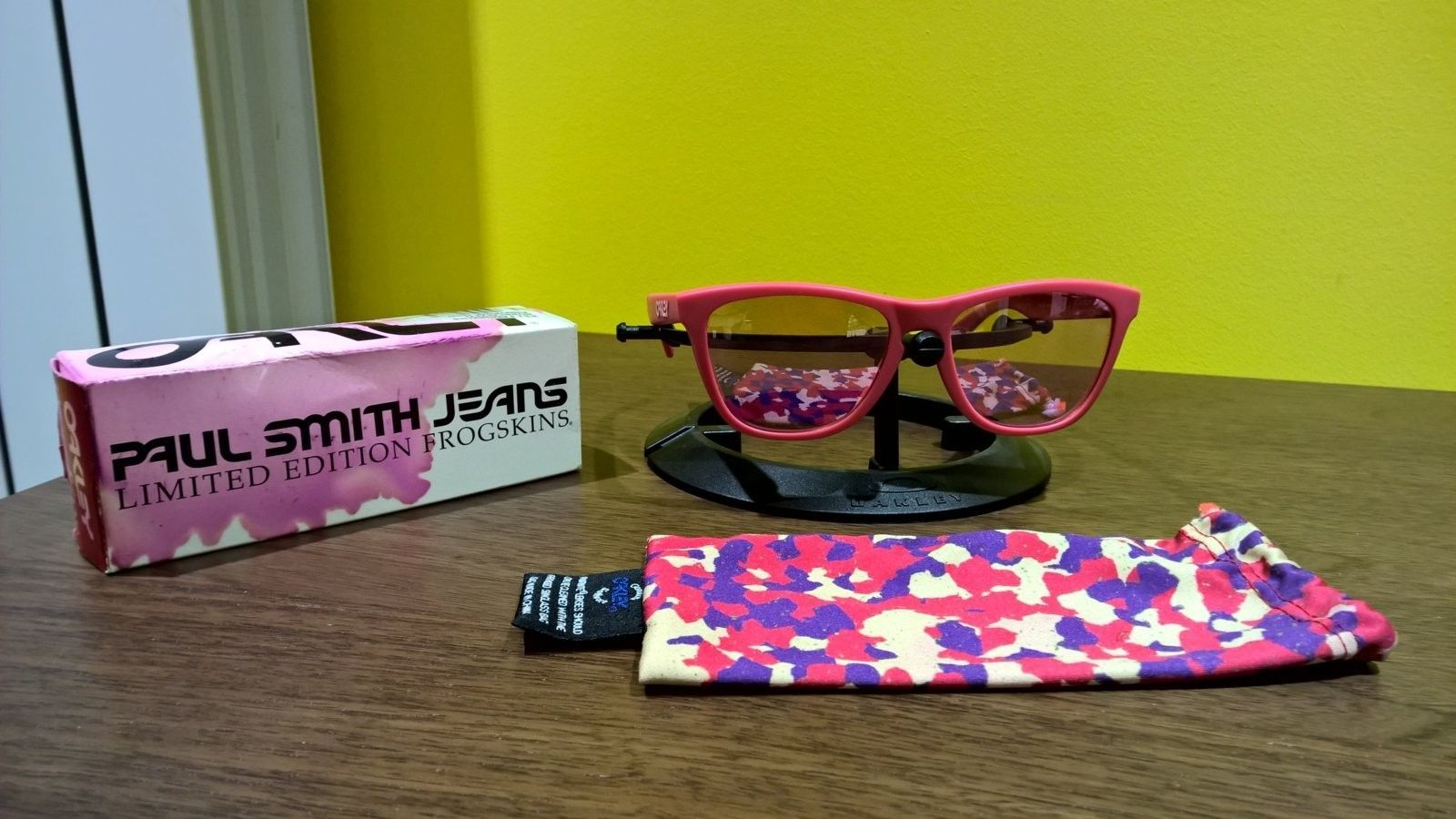 Rubberized Pink Paul Smith Frogskins Price Drop - WP_20151105_20_16_06_Pro.jpg