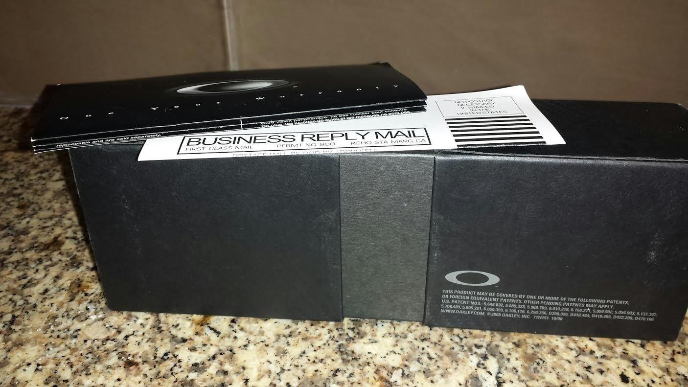 Juliet X-metal / Black Iridium Box with Perfect Foam and Paperwork - xmbox5.jpe