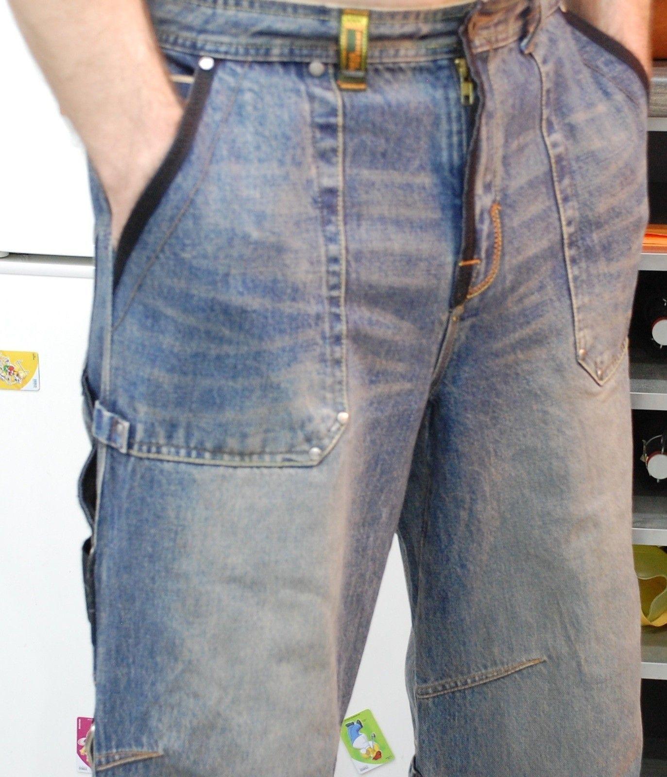Very-very rare Oakley Industrial Denim X-metal Jeans (W34  L34) - XMJ 0.jpg
