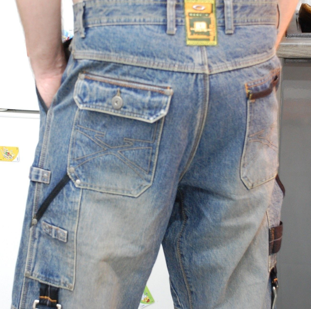 Very-very rare Oakley Industrial Denim X-metal Jeans (W34  L34) - XMJ 1.jpg