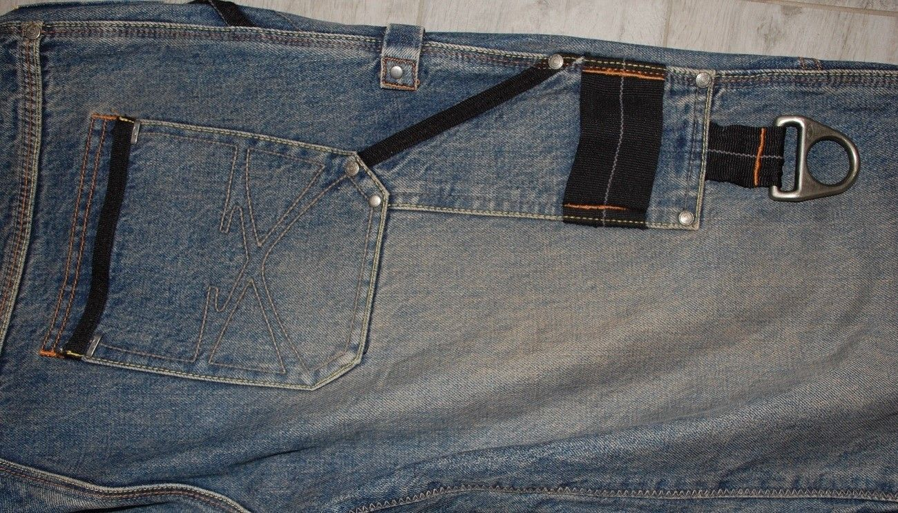Very-very rare Oakley Industrial Denim X-metal Jeans (W34  L34) - XMJ 10.jpg