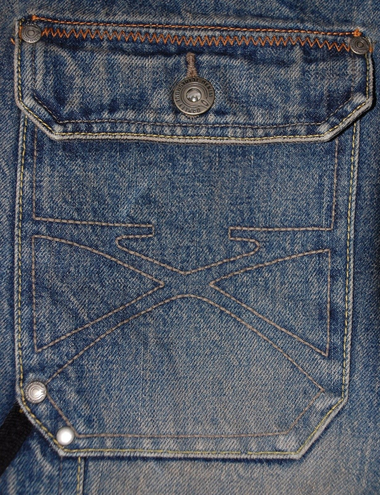Very-very rare Oakley Industrial Denim X-metal Jeans (W34  L34) - XMJ 2.jpg