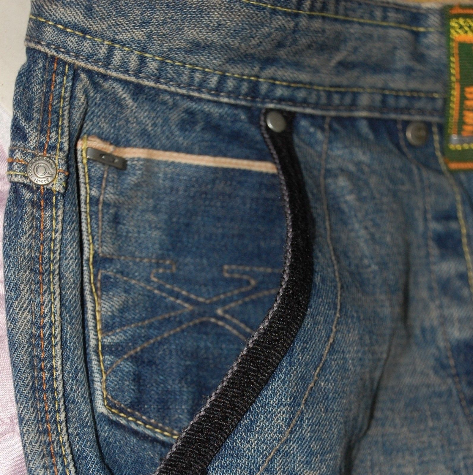 Very-very rare Oakley Industrial Denim X-metal Jeans (W34  L34) - XMJ 3.jpg