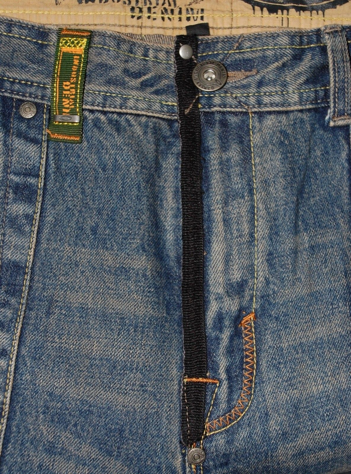 Very-very rare Oakley Industrial Denim X-metal Jeans (W34  L34) - XMJ 4.jpg