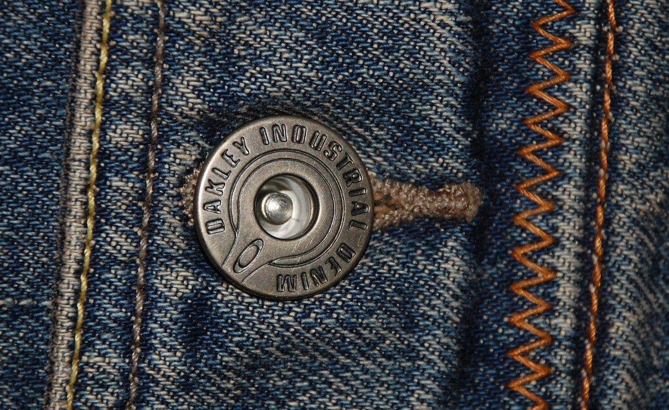Very-very rare Oakley Industrial Denim X-metal Jeans (W34  L34) - XMJ 8.jpg