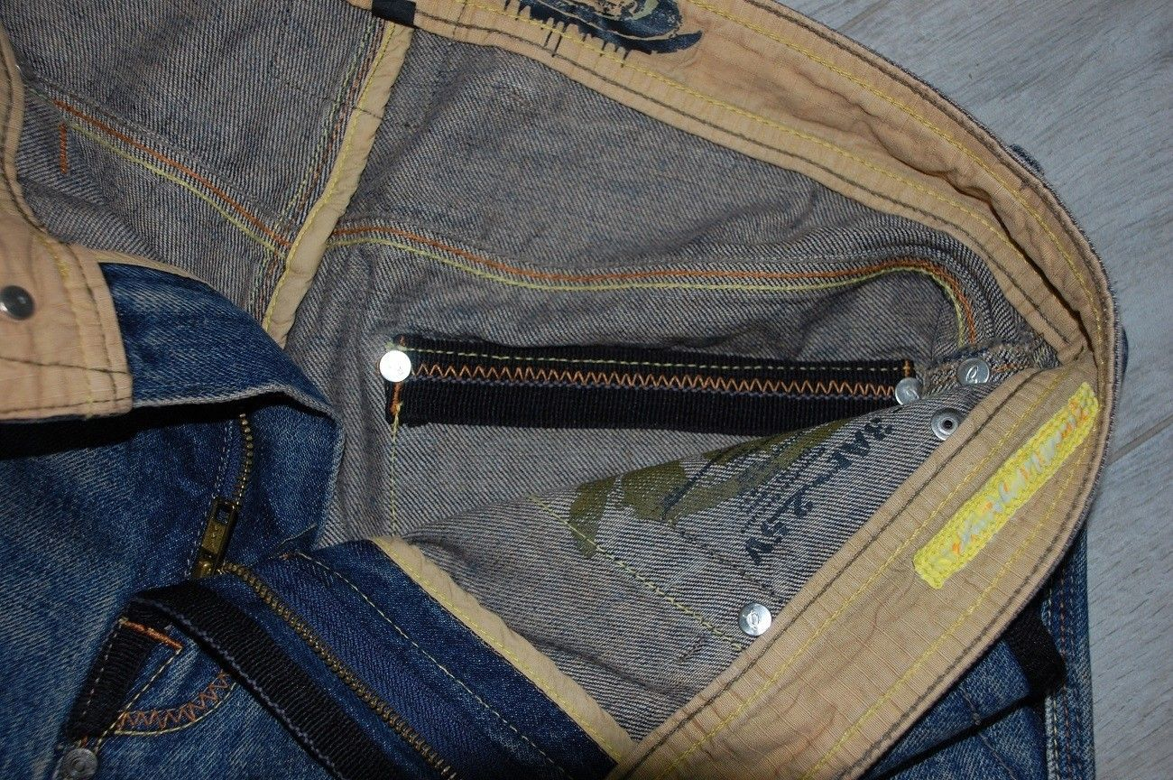Very-very rare Oakley Industrial Denim X-metal Jeans (W34  L34) - XMJ 9.jpg