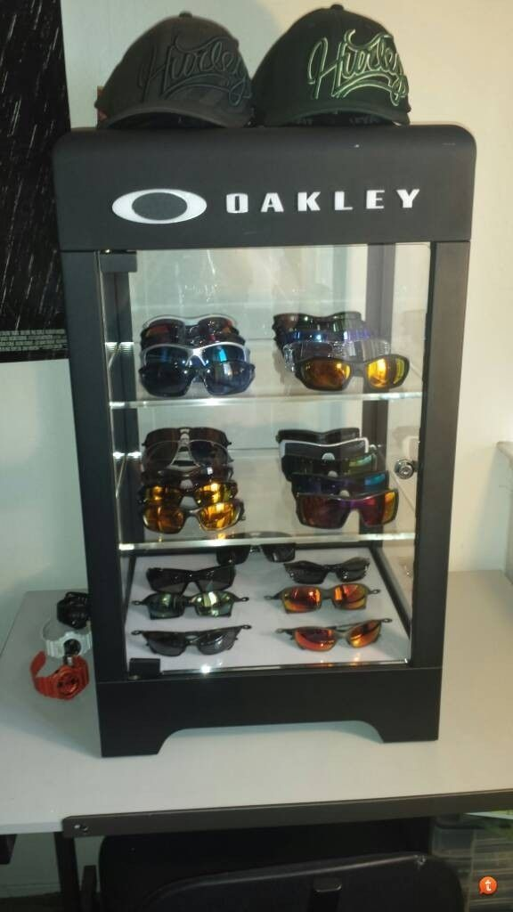 My Oakley Collection With First Display Case Oakley Forum
