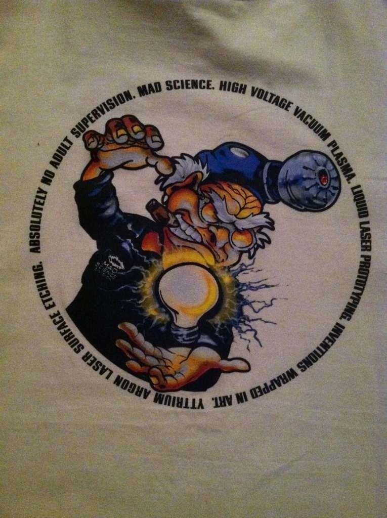 "Oakley ""Mad Science"" T-Shirt..........L - yna3ypy7.jpg"