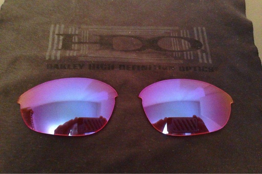 Oakley Half Jacket H.I. Blue/Persimmon Lenses....$35 - yzyme4eh.jpg