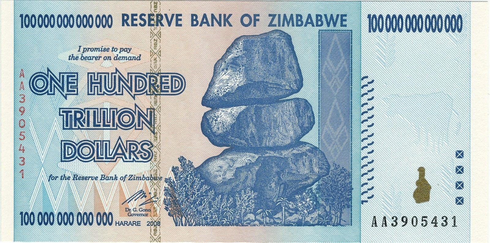 Polished Juliets like new, price? - Zimbabwe_$100_trillion_2009_Obverse.jpg