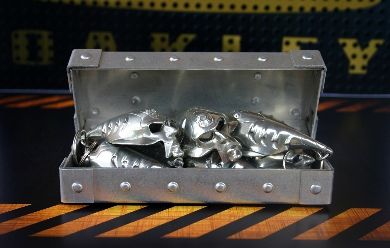 Oakley Bob keychain in vault