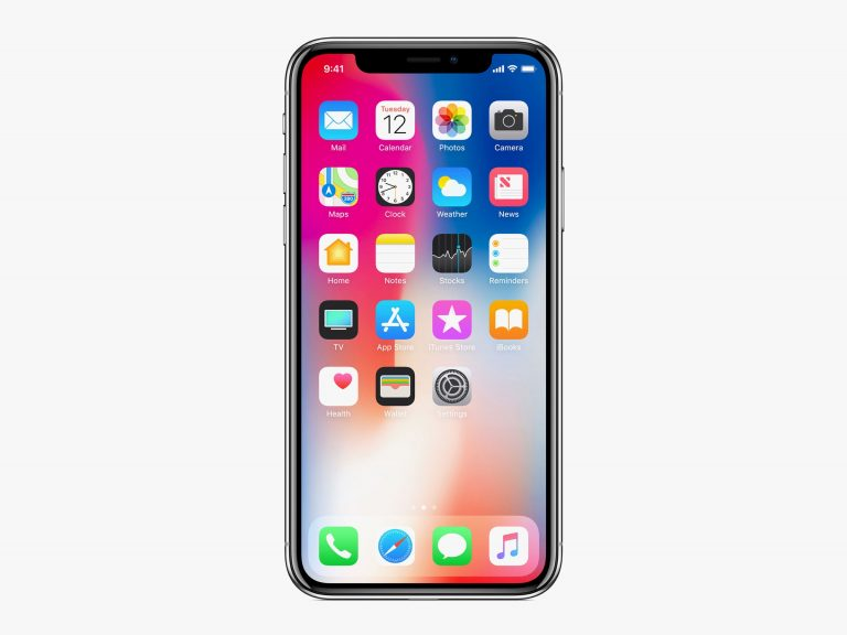 IPhone X with Face ID