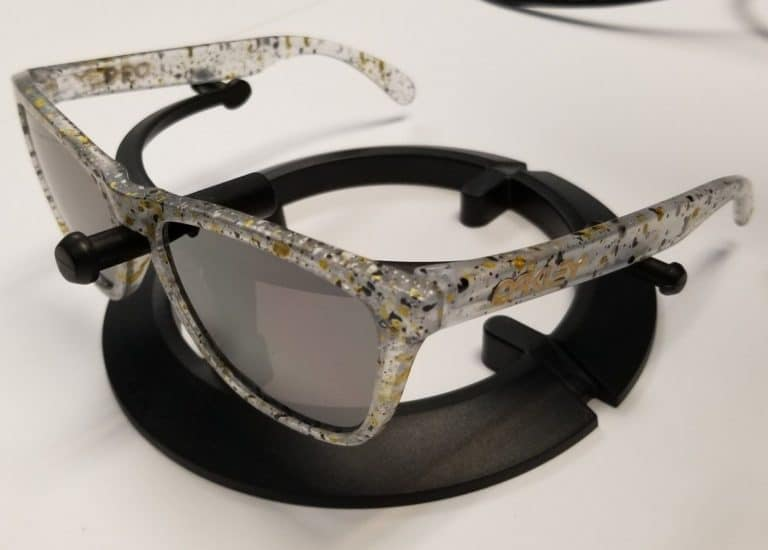 Oakley Metallic Splatter Frogskins