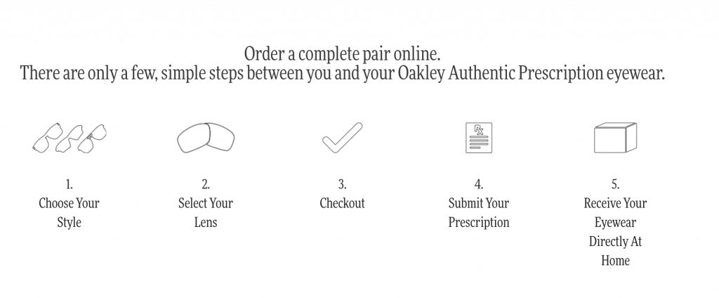 Oakley prescription sunglasses and glasses ordering