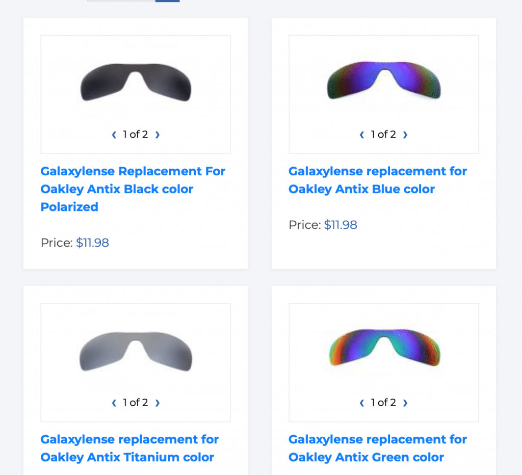 Galaxylense replacement lenses