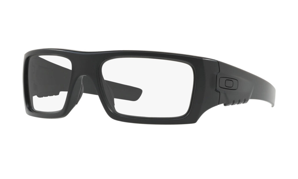 Oakley SI Det Cord Industrial with Clear Lens and ANSI Z87.1 certification