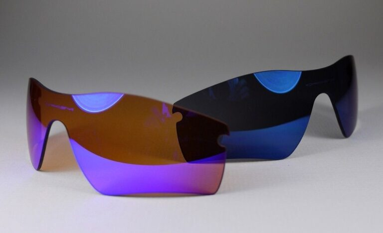 Oakley Blue Iridium vs Ice Iridium lens