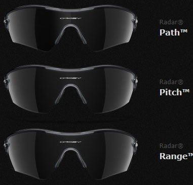 Radar Path vs. Pitch vs. Range Lens Shape Comparison