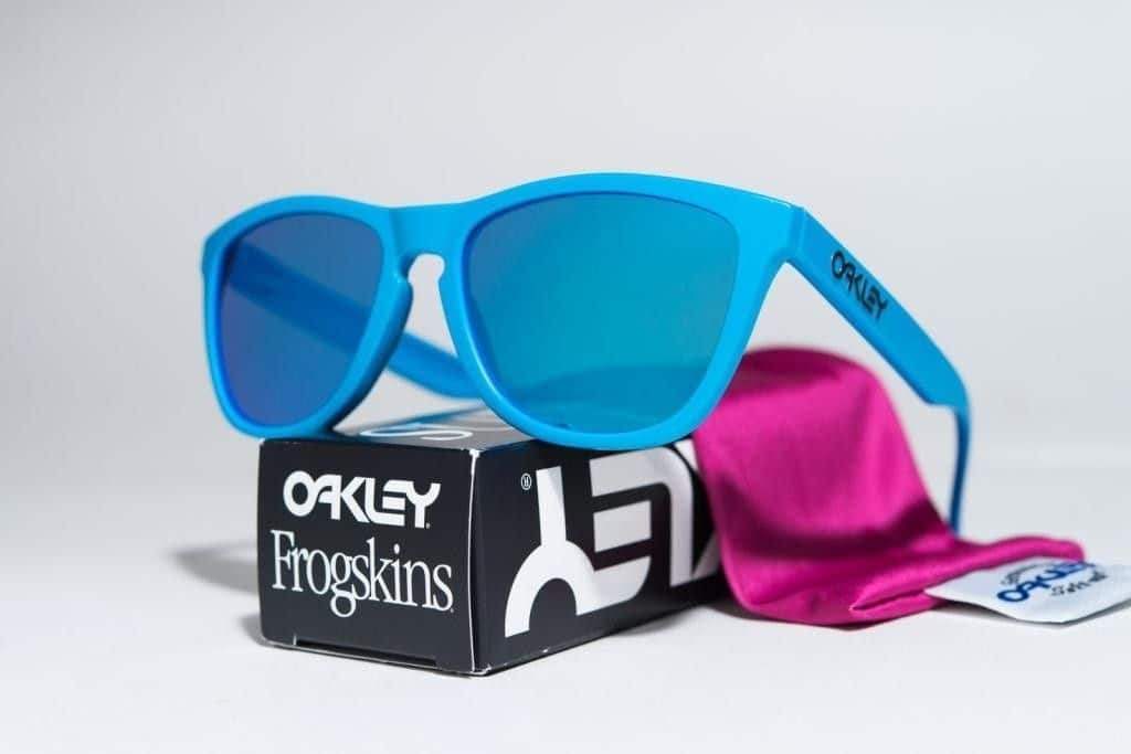 Oakley Plutonite Lenses in Frogskins Sunglasses